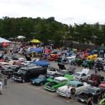 The Annapolis Car Show 2014 - Aerial Shot