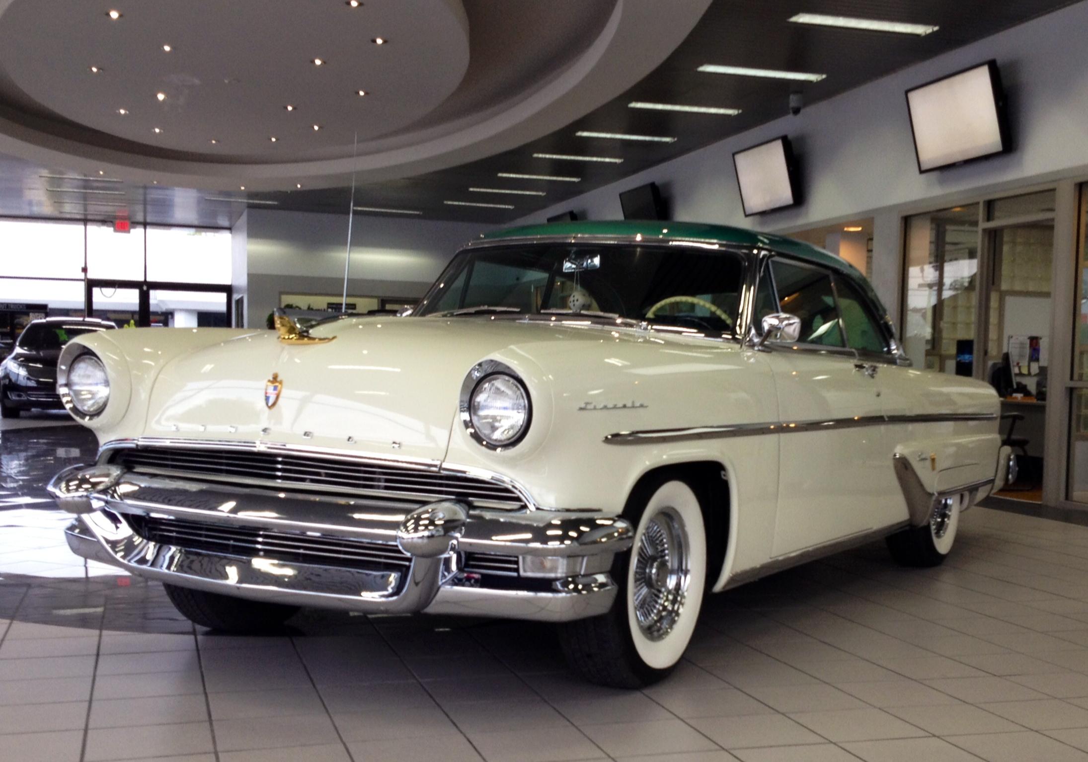 The Annapolis Car Show: 1955 Lincoln Capri | The Annapolis Car Show