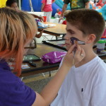 Face Painting Free at the Annapolis Car Show